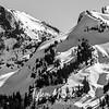 167  G Snowy Tatoosh Range BW C