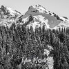 204  G Snowy Tatoosh Range BW