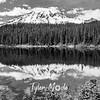 68  G Rainier and Reflection Lakes BW
