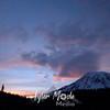 108  G Rainier and Cap Clouds