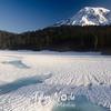 88  G Mt  Rainier at Reflection Lakes