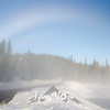 76  G Fog Bow at Reflection Lakes Wide