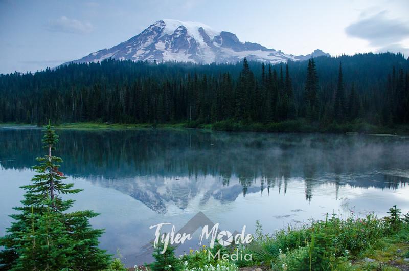 454  G Morning at Reflection Lakes