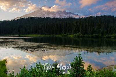 47  G Mt  Rainier and Reflection Lakes