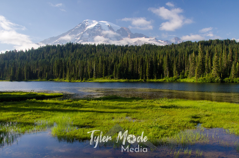 8  G Mt  Rainier and Reflection Lakes