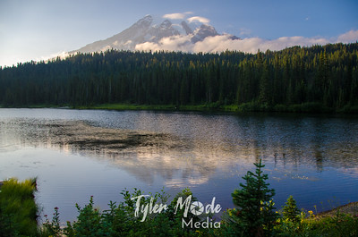 24  G Mt  Rainier and Reflection Lakes