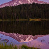 67  G Mount Rainier and Refletion Lakes Sunrise V