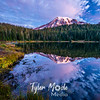 12  G Reflection Lakes Pre Sunrise Rainier