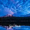 6  G Reflection Lakes Pre Sunrise Rainier