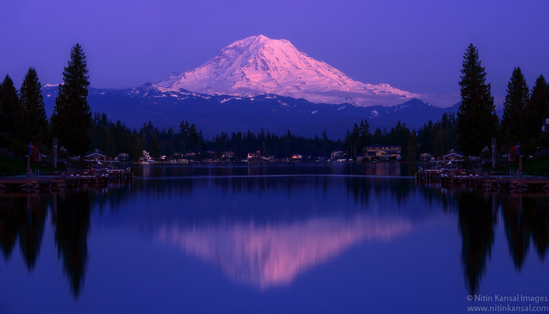 Magical reflections - Mt Rainier