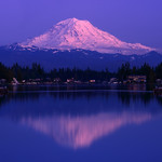 Magical reflections - Mt Rainier