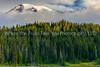 60  A Morning Peek At Mount Rainier
