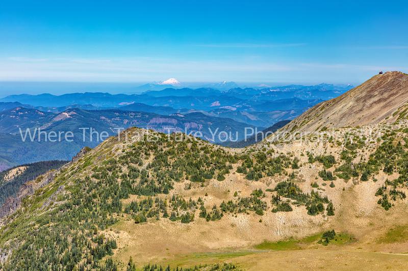 Fremont Lookout And Glacier Peak