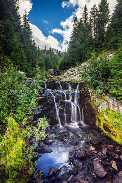 35.  The Falls At Sunbeam Creek