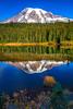 130.  Reflection Lakes Scenery (with polarizer)