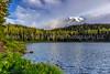 59.  A Postcard View Of Mt Rainier At Reflection Lake