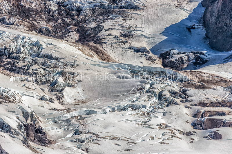 94.  Nisqually Glacier Close Up