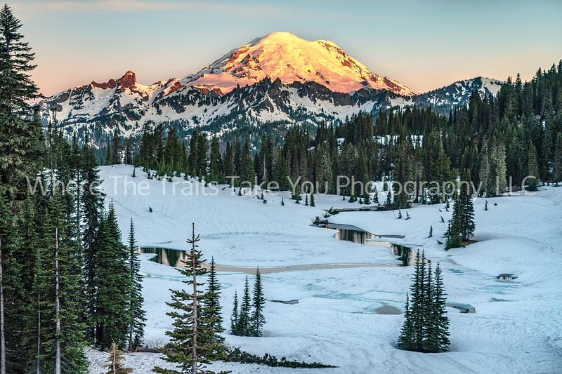 180. Sunrise Over The Mountain