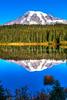 129.  Reflection Lakes Scenery (with no polarizer)