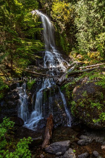160.  Falls Creek Waterfall At Two-Thirty PM