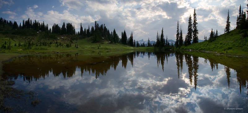 Tipsoo lake mini pano