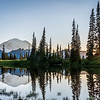 Mt Rainier Sunset Upper Tipsoo Lake