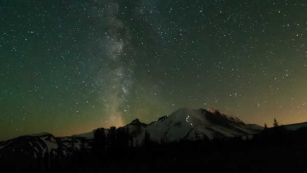 Mt Rainier & The Milky Way - 2013