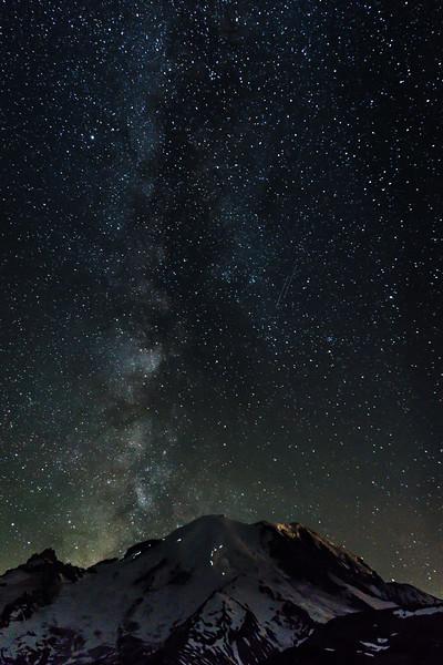 Milky Way Climbers Mt Rainier