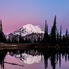 Mt Rainier Sunrise  Upper Tipsoo Lake