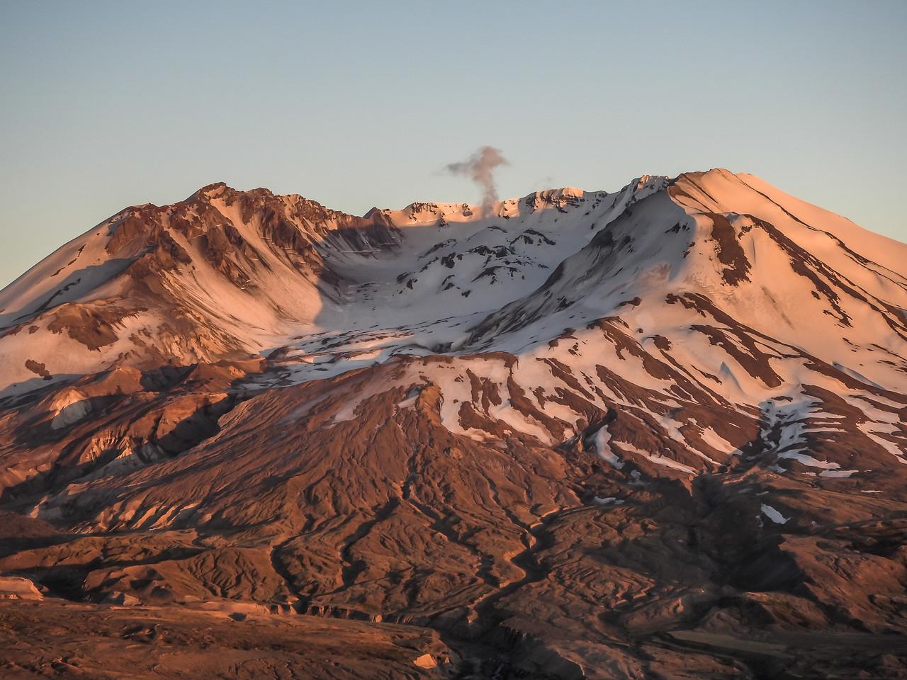 Mt St Helen Sunset  8366'