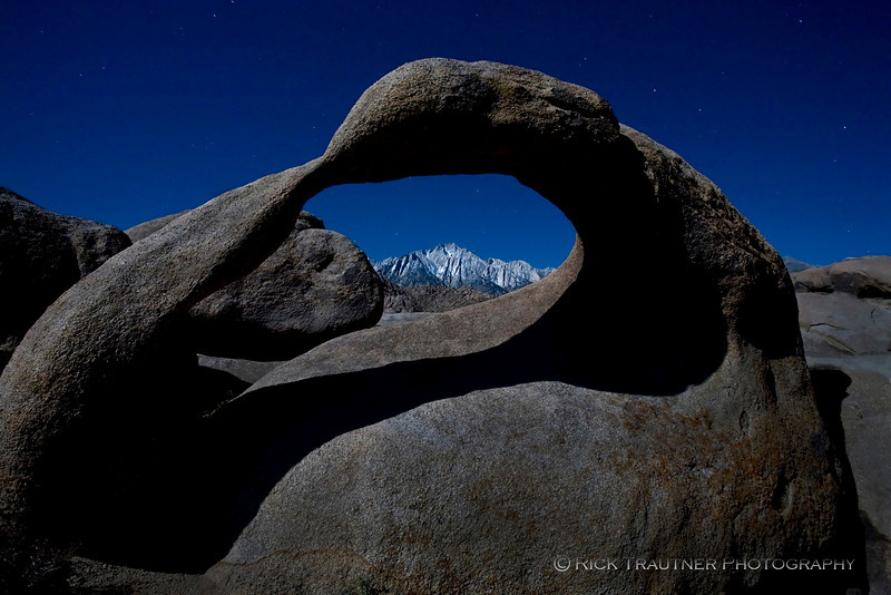 Mobius Arch by moonlight