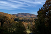 The view from # 18 Tee box at Asheville Municipal Golf Course