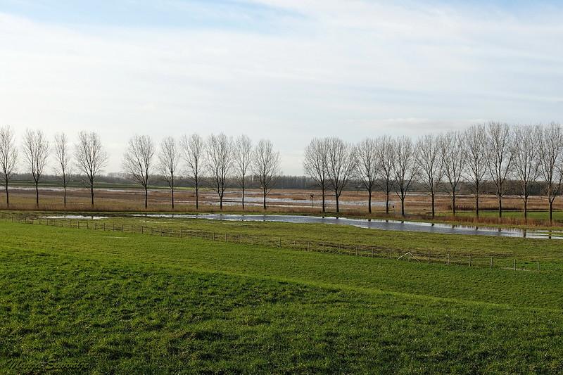 Waterpeil stijgt in het Munnikenland