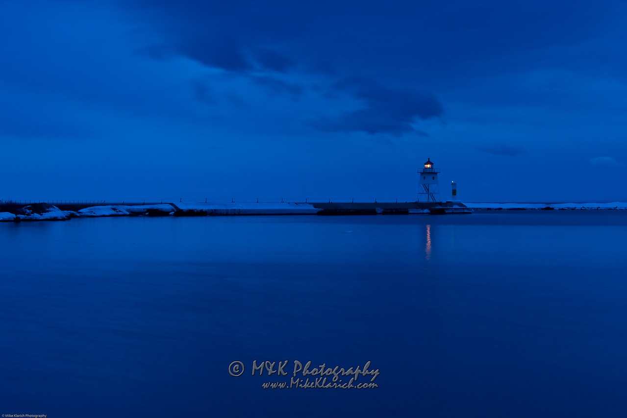 Grand Marais Harbor-8096 Captured well before sunrise.