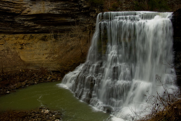Burgess Falls, outside of Cookville, Tennessee