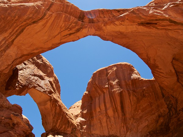 Double Arch, Arches National Park 3