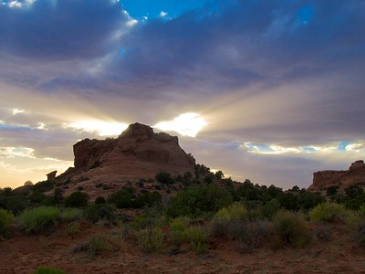 Sunset at Sand Flats, Moab, Utah
