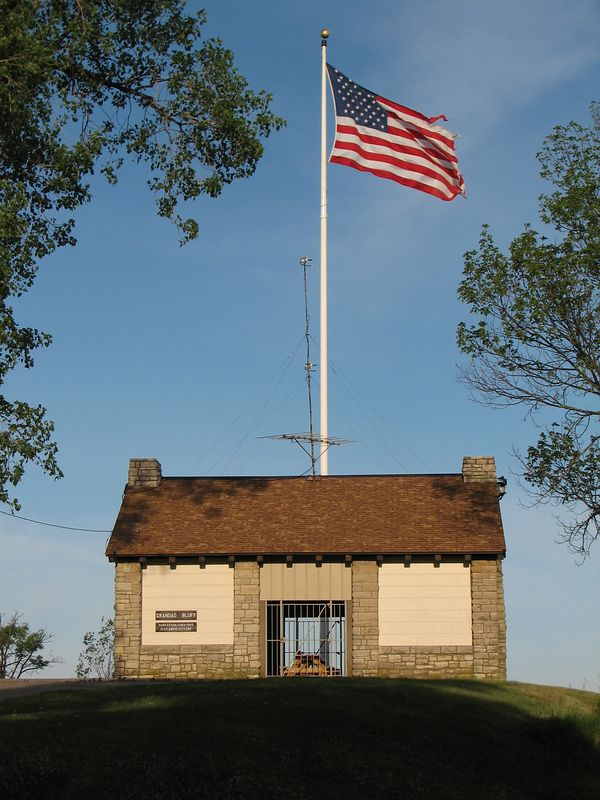 Shelter House on top of Grandad Bluff