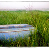 Rowboat in the Grass