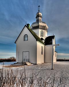 Greek Orthodox Church near Wakaw, Saskatchewan