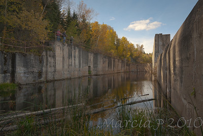Unfinished Lock at LaColle Falls, Saskatchewan