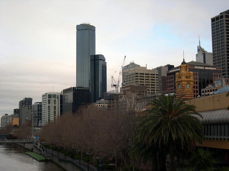 Rialto from Princess Bridge, Melbourne