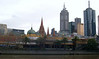 Flinders Street Station and the spires of St Paul's