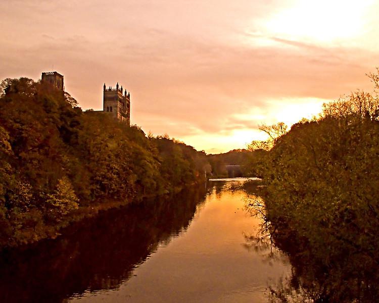 Durham November 2011 sunset