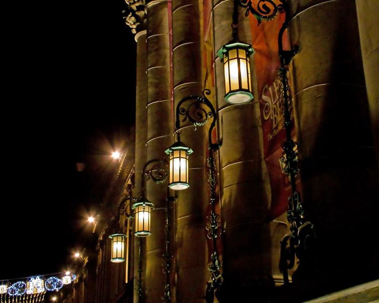 Theatre Royal, Newcastle at night Dec 2011