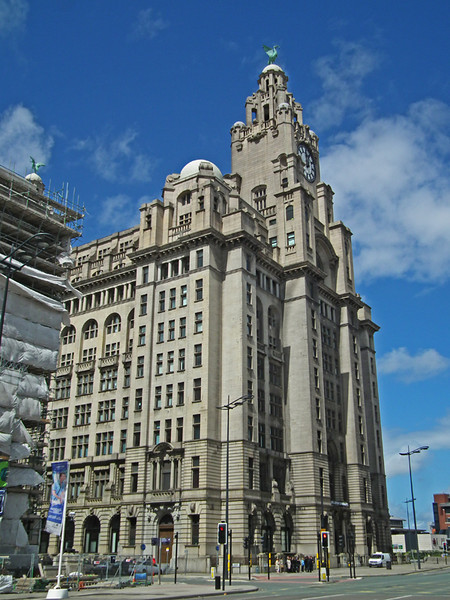 Royal Liver Building , Liverpool