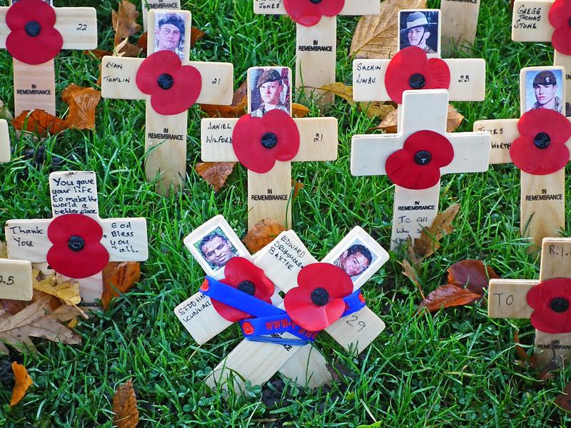 Remembrance Sunday Saltwell Park Gateshead 5