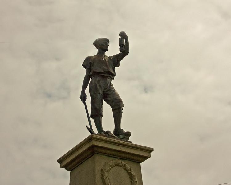 Memorial to NE Coal Miners