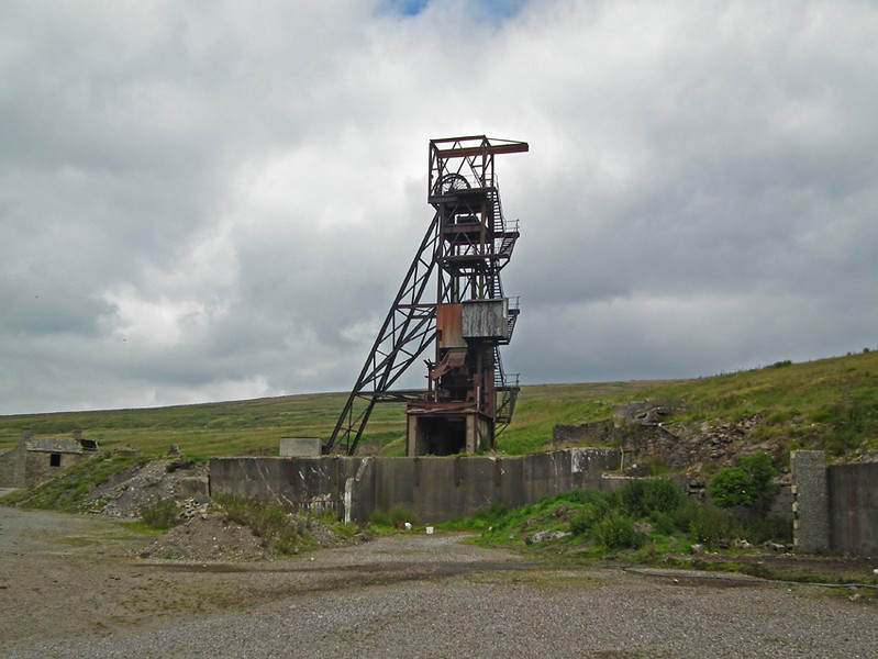 Grove Rake Flourspar Mine, Rookhope Co. Durham