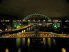 Newcastle bridges at night 03